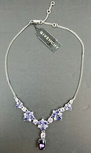 Givenchy-Purple-Crystal-Cluster-Necklace-Retails-for-68-Free-Shipping