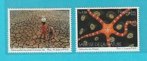 UNO-Genf-aus-2005-postfrisch-MiNr-514-515-Tiere-Kinder-Natur