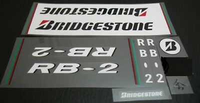 Bridgestone RB-1 Bicycle Decal Set with Chevrons sku 10431
