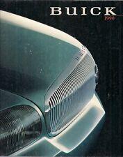 Buick Reatta LeSabre Regal Riviera Electra Century 1990 USA Market Brochure