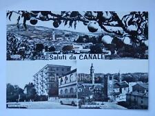 Saluti da CANALE Cuneo vecchia cartolina