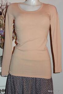 NOA-Maglietta-Basic-Jersey-elasticizzato-COTTON-M-38-CINABRO-Arancione-Cotone