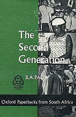 Second Generation by Pauw, B. A.-ExLibrary