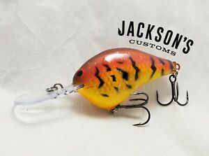 Jackson-039-s-Customs-Custom-Painted-Rapala-DT-10-Crankbait-034-Crystal-Craw-034