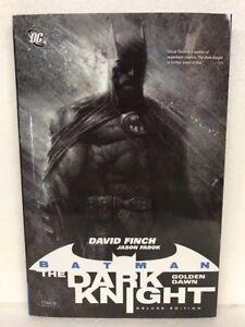 DC-BATMAN-THE-DARK-KNIGHT-VOL-1-GOLDEN-DAWN-Hardcover-HC-NEW-MSRP-25
