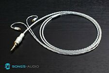 Song's Audio Galaxy MX Upgrade Replacement Cable Silver MMCX Shure