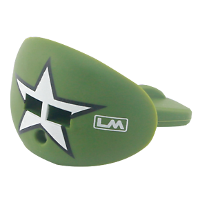 White Star Military Football Mouthpiece Army Green Moss