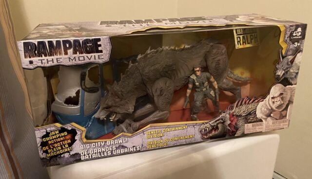 Rampage The Movie Ralph Big City Brawl Figure By Lanard New In Box MIB Rare