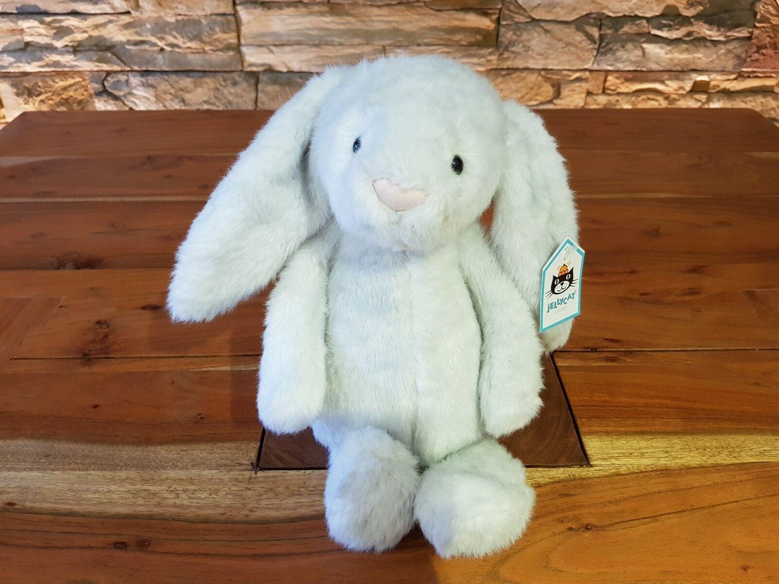 JellyCat Medium di TIMIDA Birch Bunny nuovo con etichetta