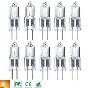 G4-Alogena-Lampadina-5W-10W-20W-Bianco-caldo-12V-filamento-lights-Energetico-NEW