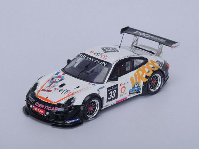 Spark Model 1 43 SP118 Porsche 997 GT3 R PRO  33 24H SPA 2012  Almeras NEW
