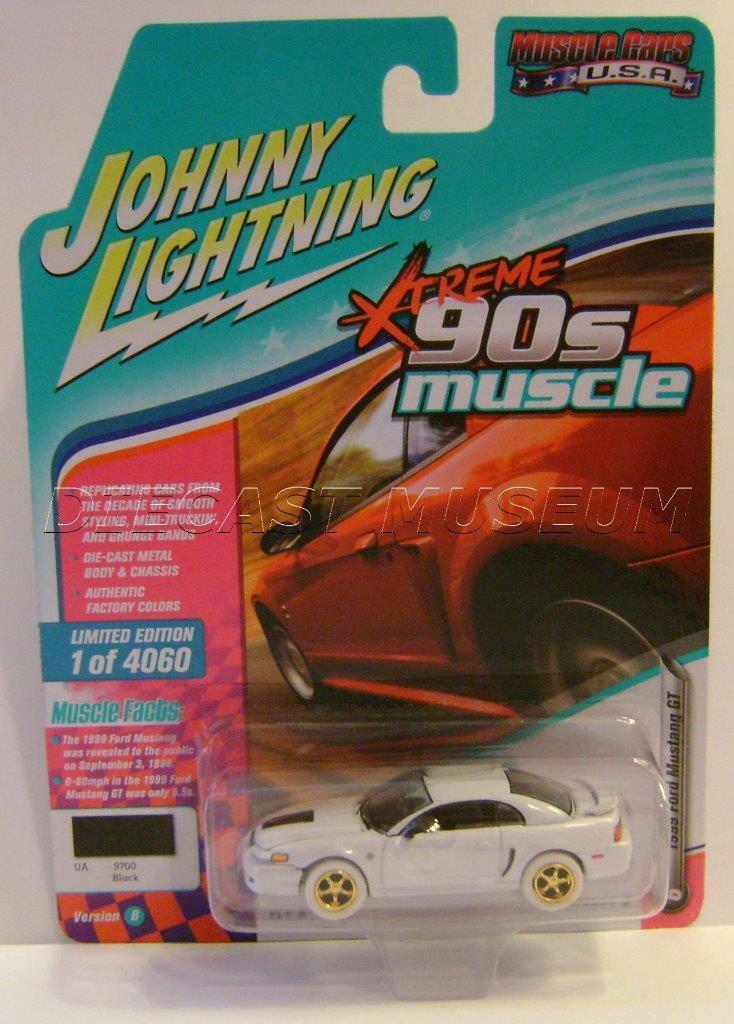 1999 '99 FORD FORD FORD MUSTANG GT XTREME 90S MUSCLE CARS USA JOHNNY WHITE LIGHTNING CHASE 7418ee