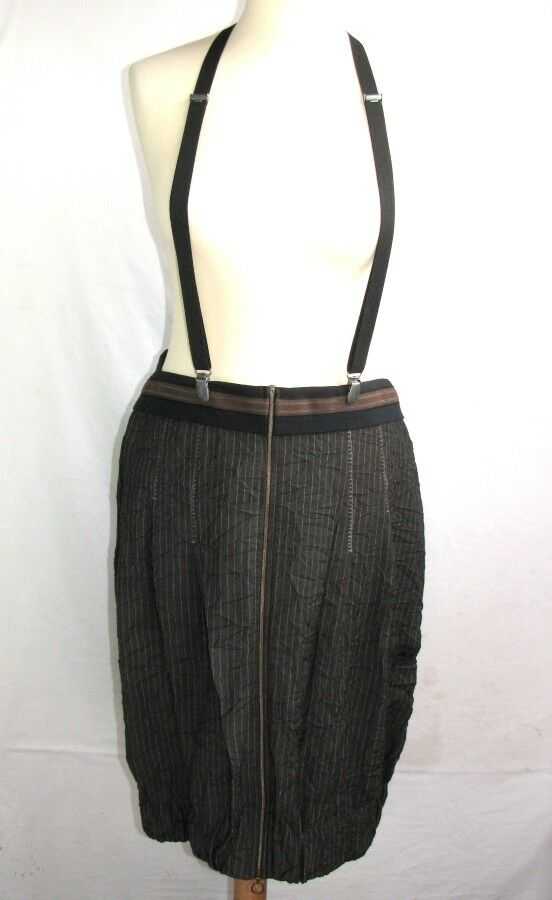 COP GIRLFRIEND SKIRT HAS FITTINGS MODEL COLUMBIA BROWN GREY SIZE 44 EX.