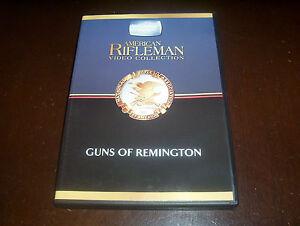 AMERICAN-RIFLEMAN-TALES-OF-THE-GUN-History-Channel-RARE-REMINGTON-GUNS-DVD