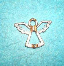 Pendant Angel Charm Bead Frame Charm Guardian Angel Birthday Angel Charm Wings