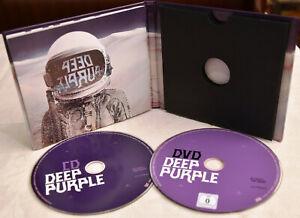DEEP PURPLE Whoosh! CD & DvD Neuwertig DIGIPAK Aktuelles ALBUM Deluxe EDITION!!!