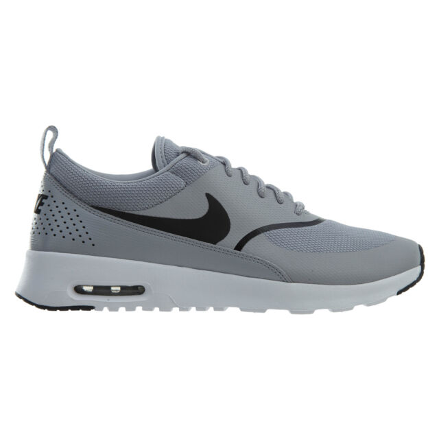 pretty nice 8c71d 5f36c Nike Air Max Thea Womens 599409-030 Wolf Grey Black Running Shoes Size 6