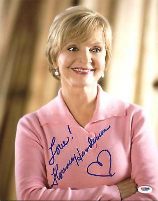 Photographs Florence Henderson The Brady Bunch Authentic Signed 11x14 Photo Psa/dna #l68896
