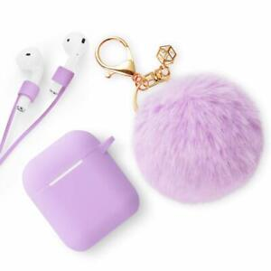 Apple Airpods Case Cute Case Drop Proof Silicone Cover And Skin Ebay