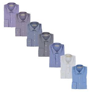 Michael-Kors-Mens-Dress-Shirt-Long-Sleeve-Button-Up-Collared-Top-New-Nwt