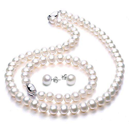 d90694ea0 Viki Lynn Freshwater Cultured Pearl Necklace Set Includes STUNNING Bracelet  and for sale online   eBay