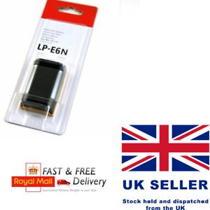 LP-E6N LPE6N Batería Para Canon LP-E6 EOS 5D2 5D3 6D 60D 70D 7D Mark UK II