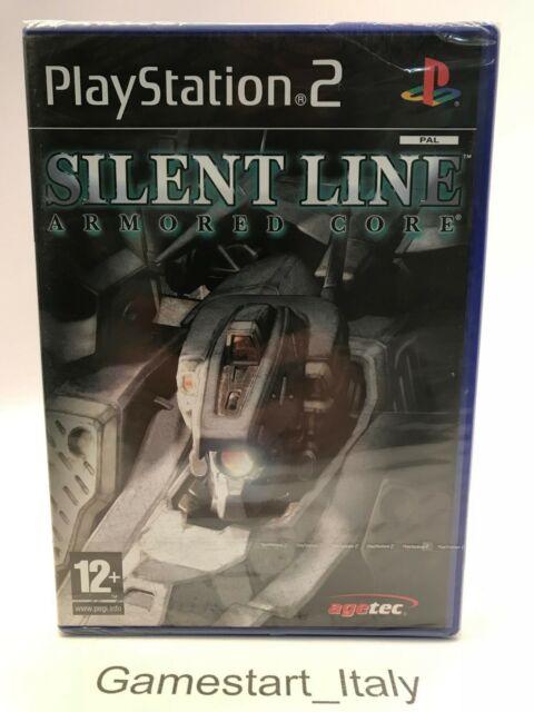 SILENT LINE ARMORED CORE - SONY PS2 - GIOCO NUOVO SIGILLATO - NEW SEALED PAL