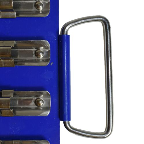 """80pc Socket Holder Tray Rack Rail Storage For 1//4/"""" 3//8/"""" And 1//2/"""" Drive Sockets"""
