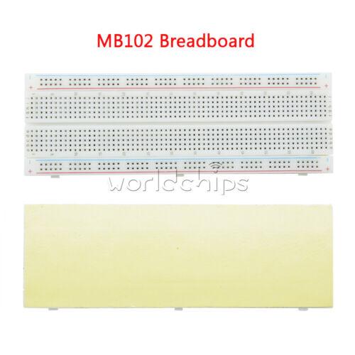 1//2//3//5//10PCS 830 Point MB-102 MB102 Breadboard Test Solderless PCB Develop DIY