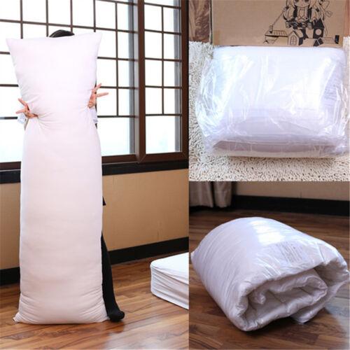 150 x 50CM Anime Dakimakura Hugging Long Pillow Inner Body Cushion White US