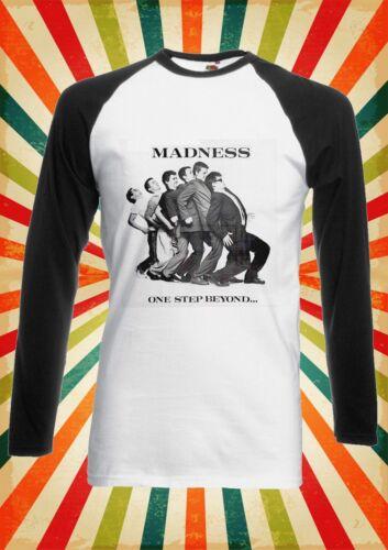 Madness One Step Beyond 79 Ska Men Women Long Short Sleeve Baseball T Shirt 1874