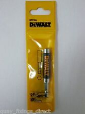 Dewalt DT7701 Magnetic Screwdriver Bit Holder 80mm Guide FingerSaver Retracting