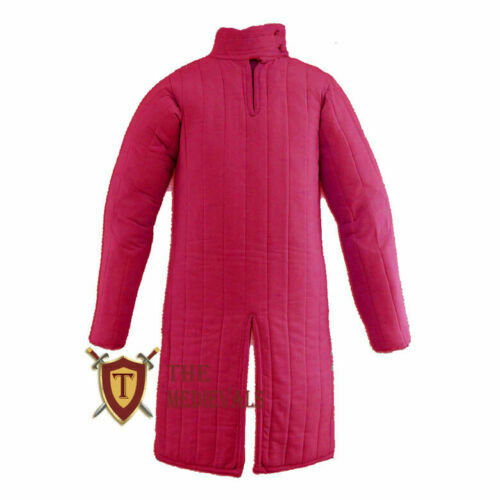 Medieval Gambeson Jacket sca armor larp Aketon knight armor for theater costumes