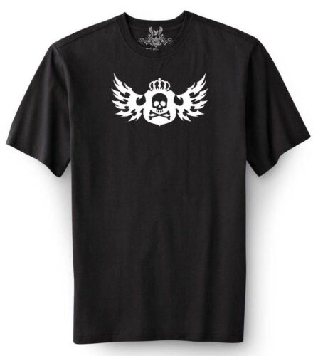 NW MEN/'S PRINTED SKULL WINGS GRAPHIC DESIGN FUNNY HIPSTER T-SHIRT MMA ALL SZ