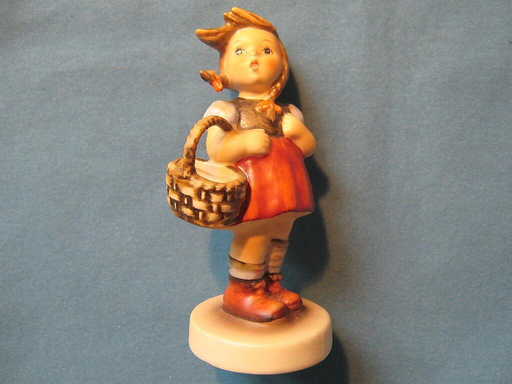 Hummelfigur 96 Gretl  - Little Shopper - ältere Figur - 1. Wahl