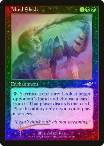 Mind Slash FOIL Nemesis PLD-SP Black Uncommon MAGIC THE GATHERING CARD ABUGames