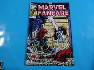 marvel-fanfare-12-1st-cover-2nd-app-iron-maiden-marvel-comics-Comic-book
