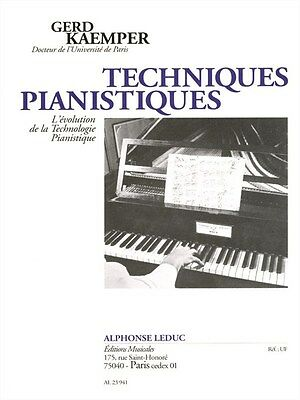 Instruction Books & Media Musical Instruments Kaemper Techniques Pianistiques Piano Tutor Piano Learn To Play Music Book