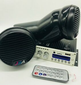 JETSKI POD SPEAKER KIT STEREO BLUETOOTH SYSTEM UNIVERSAL RX RXP GTI SPARK SEADOO