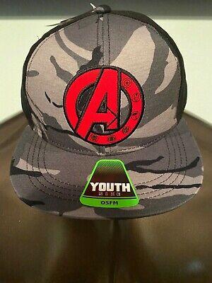 Black Panther Endgame Marvel Comics Avengers Boys Girls Kids Youth Hat Cap