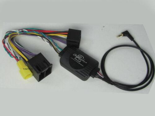 Pioneer volant télécommande stalk Adaptateur Interface renault CLIO LAGUNA MEGANE