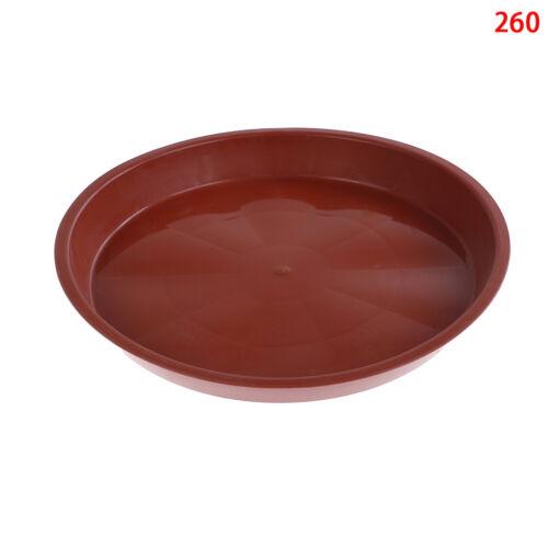 garden pp resin round plant saucer pad flower pot base water saving tray ✔UK z!