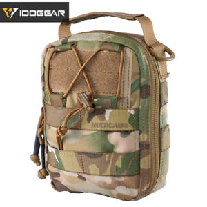 IDOGEAR Tactical Medical Pouch MOLLE Utility Pouch First Aid