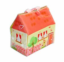 Doll house bag, fabric doll house, Travel toy doll, Doll house, Portable house