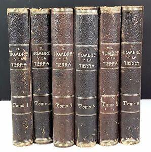 L-HOMME-ET-LA-TERRE-6-VOLUMES-ELISEO-RECLUS-EDITORIAL-MAUCCI-S-D