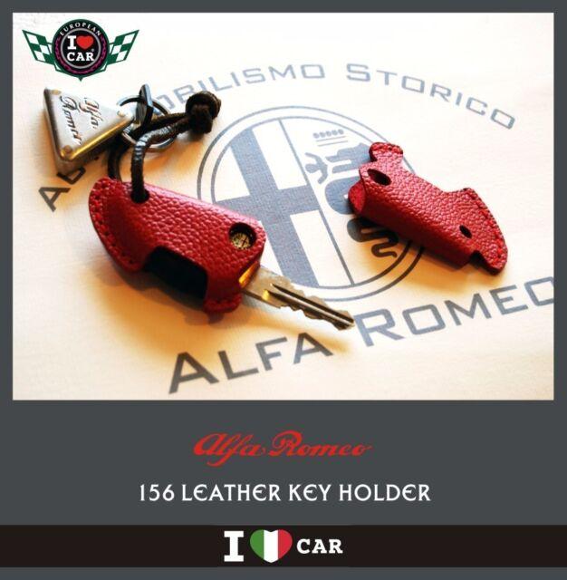 Alfa Romeo Leather Key Holder