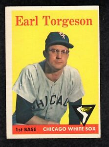 1958-Topps-138-Earl-Torgeson-Chicago-White-Sox-Baseball-Card-small-mark-bk-G-VG