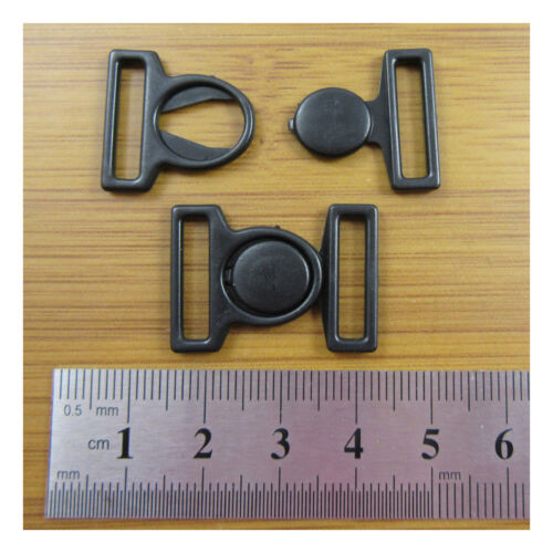 2 BIKINI HOOK /& SNAP PLASTIC CLIPS CLASPS BRA FASTENER  16mm STRAP HABERDASHERY