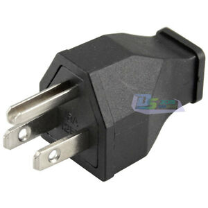Image Is Loading Premium Ac 125v 15a 3 Pin Male