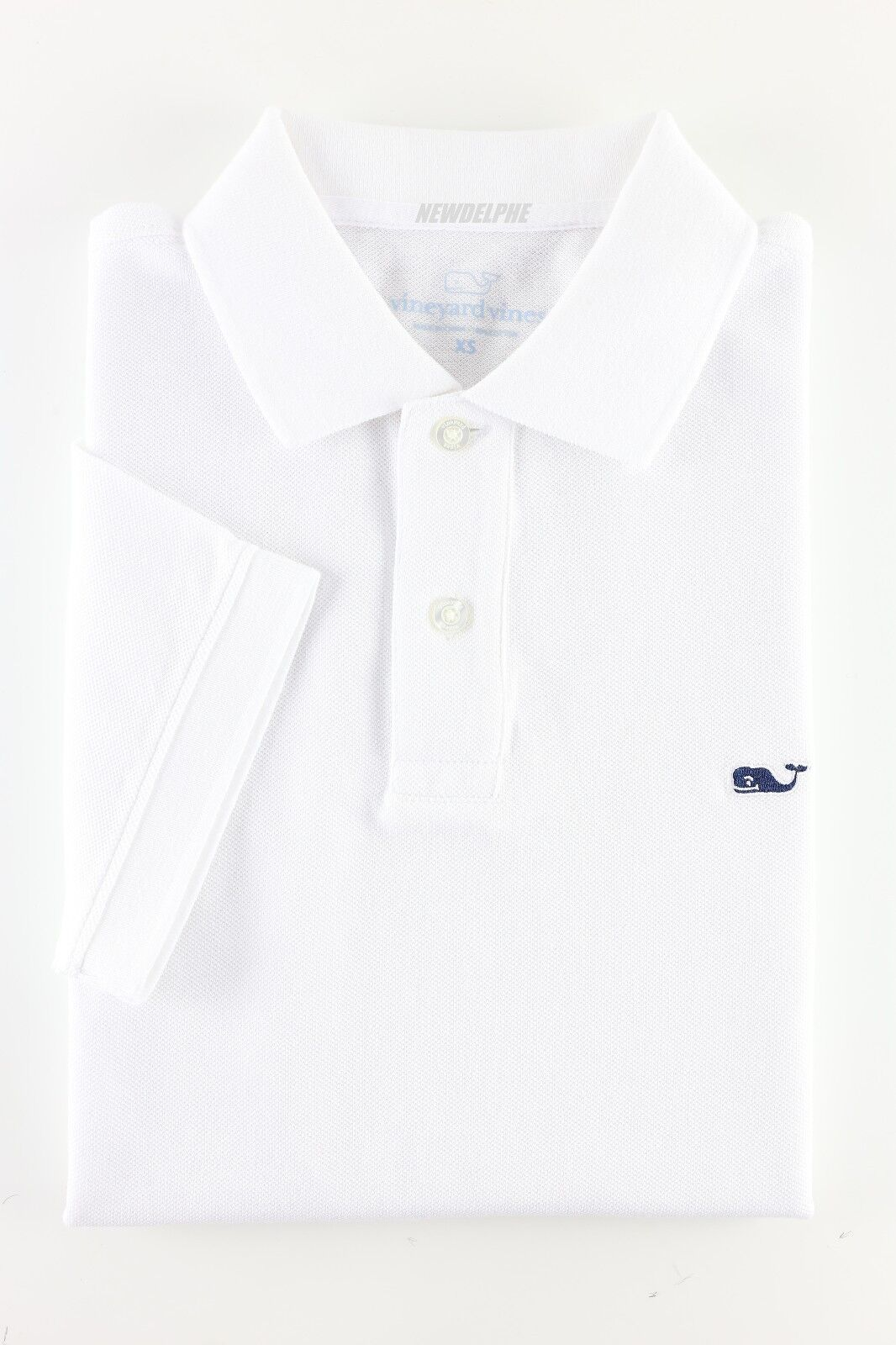 5a42a9d4 Vineyard Vines Mens White Cap Solid Classic Polo Shirt S for sale online |  eBay